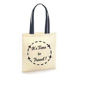 Shopping bag - Time to travel